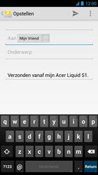 Acer Liquid S1 - E-mail - Hoe te versturen - Stap 7