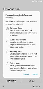 Samsung Galaxy J8 - Primeiros passos - Como ativar seu aparelho - Etapa 19