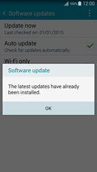Samsung A500FU Galaxy A5 - Network - Installing software updates - Step 10