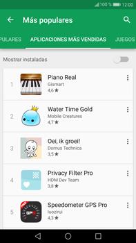 Huawei Mate 9 - Aplicaciones - Descargar aplicaciones - Paso 11