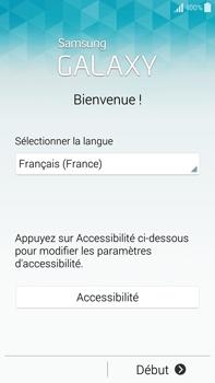 Samsung Galaxy Note 4 - Premiers pas - Créer un compte - Étape 2