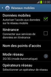 Samsung S6810P Galaxy Fame - Internet - configuration manuelle - Étape 8