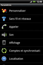 HTC A510e Wildfire S - MMS - configuration manuelle - Étape 5
