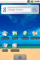 Samsung I5700 Galaxy Spica - Voicemail - Handmatig instellen - Stap 1