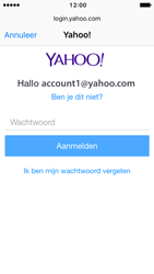 Apple iPhone 5 iOS 10 - E-mail - handmatig instellen (yahoo) - Stap 7