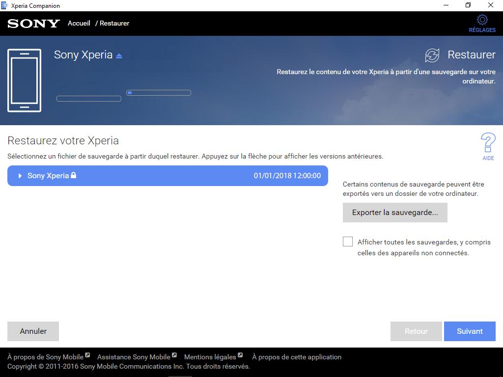 Sony Xperia XA2 - Aller plus loin - Gérer vos données avec un ordinateur - Étape 10