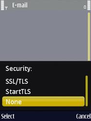 Nokia N86 - E-mail - Manual configuration - Step 13