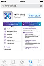 Apple iPhone 4 S iOS 9 - Applicaties - MyProximus - Stap 6