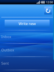Sony Ericsson Xperia X10 Mini - Email - Sending an email message - Step 4