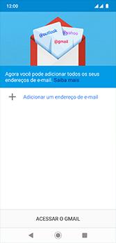 Motorola Moto G7 - Email - Como configurar seu celular para receber e enviar e-mails - Etapa 5