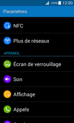 Samsung G357 Galaxy Ace 4 - Messagerie vocale - configuration manuelle - Étape 5