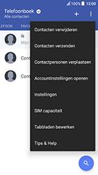 HTC U Play (Model 2PZM3) - Contacten en data - Contacten kopiëren van toestel naar SIM - Stap 5