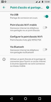 Motorola Moto G6 - Internet et connexion - Utiliser le mode modem par USB - Étape 8