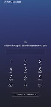 Samsung Galaxy S8 - Primeros pasos - Activar el equipo - Paso 3