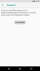 LG Nexus 5X - Android Oreo - Toestel - Fabrieksinstellingen terugzetten - Stap 9