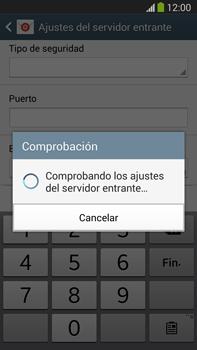 Samsung Galaxy Note 3 - E-mail - Configurar correo electrónico - Paso 11