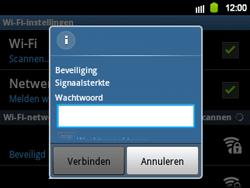 Samsung B5510 Galaxy TXT - Wifi - handmatig instellen - Stap 8