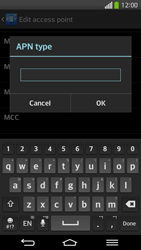 LG G Flex D955 - Internet - Manual configuration - Step 14