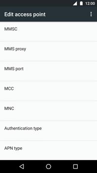 Motorola Moto Z Play - MMS - Manual configuration - Step 14