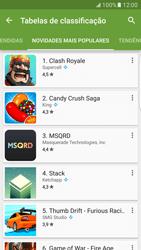 Samsung Galaxy S7 Edge - Aplicações - Como pesquisar e instalar aplicações -  11