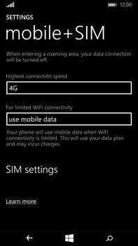 Microsoft Lumia 640 XL - Network - Usage across the border - Step 5