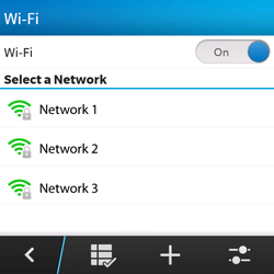 BlackBerry Q5 - WiFi and Bluetooth - Manual configuration - Step 7