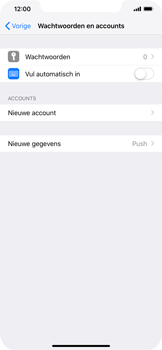 Apple iPhone XS Max - E-mail - e-mail instellen: IMAP (aanbevolen) - Stap 4