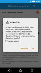Sony E2303 Xperia M4 Aqua - Internet - Activer ou désactiver - Étape 8