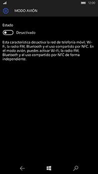 Microsoft Lumia 950 XL - Funciones básicas - Activar o desactivar el modo avión - Paso 6