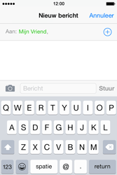 Apple iPhone 4S iOS 8 - MMS - hoe te versturen - Stap 6