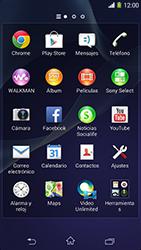 Sony Xperia M2 - WiFi - Conectarse a una red WiFi - Paso 3