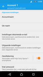 Sony Xperia M5 (E5603) - E-mail - Instellingen KPNMail controleren - Stap 8