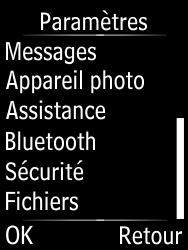 Doro Phone Easy 631 - Aller plus loin - Restaurer les paramètres d'usines - Étape 4