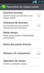 LG P700 Optimus L7 - Internet - Configuration manuelle - Étape 6