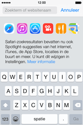 Apple iPhone 4S met iOS 8 (Model A1387) - Internet - Hoe te internetten - Stap 3