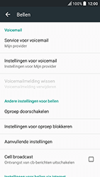 HTC U Play (Model 2PZM3) - Voicemail - Handmatig instellen - Stap 7