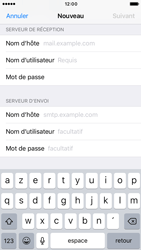 Apple iPhone 6s iOS 10 - E-mail - Configuration manuelle - Étape 12
