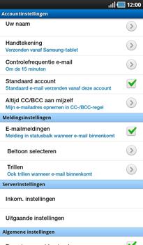 Samsung P1000 Galaxy Tab - E-mail - Instellingen KPNMail controleren - Stap 13