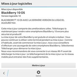 BlackBerry Passport - Réseau - Installation de mises à jour - Étape 6