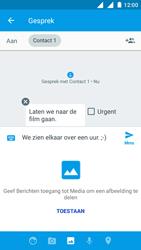 Nokia 3 - MMS - afbeeldingen verzenden - Stap 11