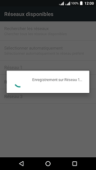 Acer Liquid Zest 4G Plus Double SIM - Réseau - Sélection manuelle du réseau - Étape 10