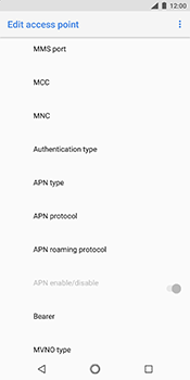 Nokia 7 Plus - MMS - Manual configuration - Step 12