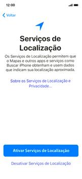 Apple iPhone iOS 12 - Primeiros passos - Como ativar seu aparelho - Etapa 21