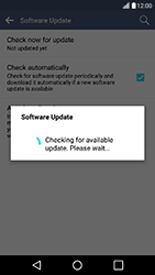 LG K10 4G K420 - Network - Installing software updates - Step 11