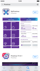 Apple iPhone 6s - Applications - MyProximus - Step 6