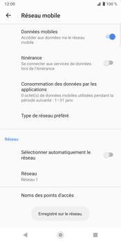 Sony Xperia XZ3 - Réseau - utilisation à l'étranger - Étape 14