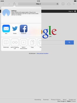 Apple iPad 4th generation iOS 7 - Internet - Internet browsing - Step 5
