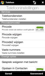 HTC T7373 Touch Pro II - Buitenland - Bellen, sms en internet - Stap 7