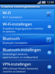 Sony Ericsson Xperia X10 Mini Pro - Bluetooth - Headset, carkit verbinding - Stap 5