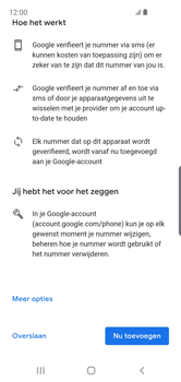 Samsung galaxy-s10e-dual-sim-sm-g970f - Applicaties - Account aanmaken - Stap 14